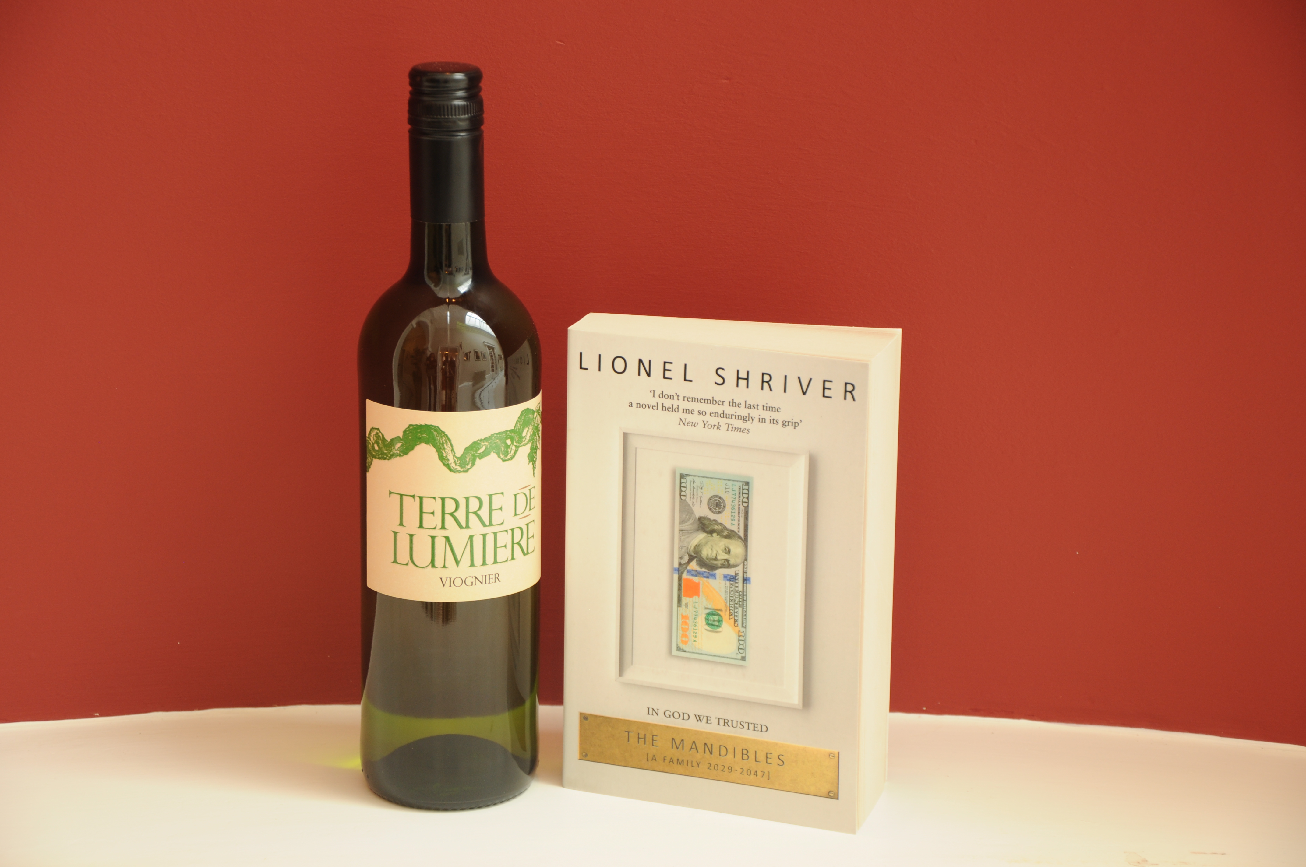 Damian Barr: Drinking wine with Lionel Shriver