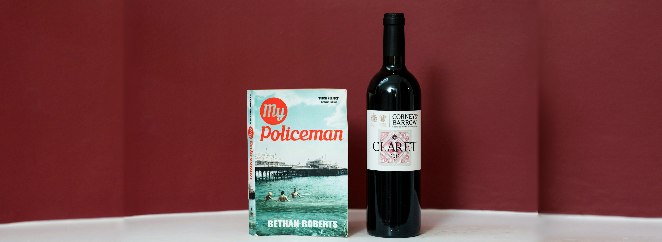 Book & Bottle #NovelPairing: My Policeman