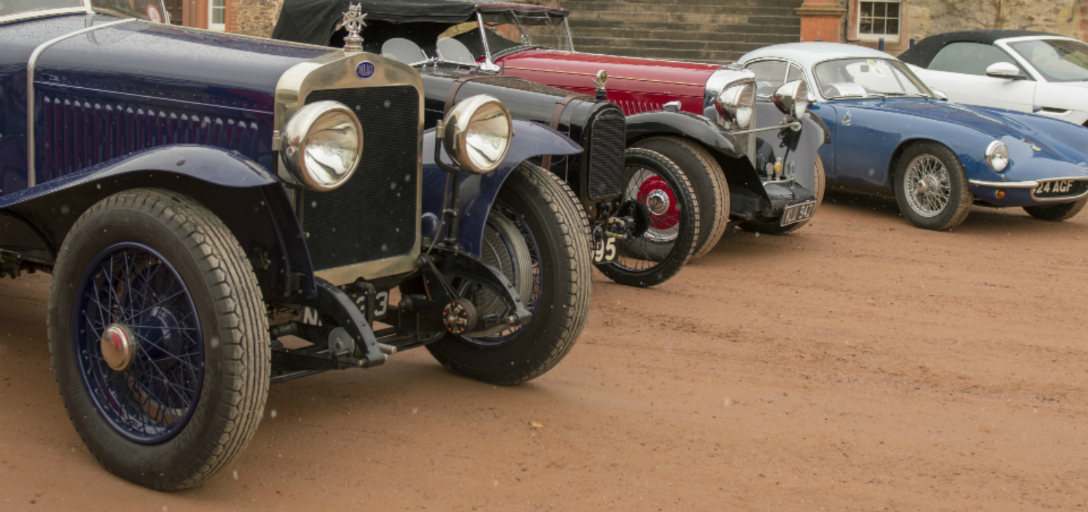 Vintage Cars and Wine at the BVAC Classic Car Show
