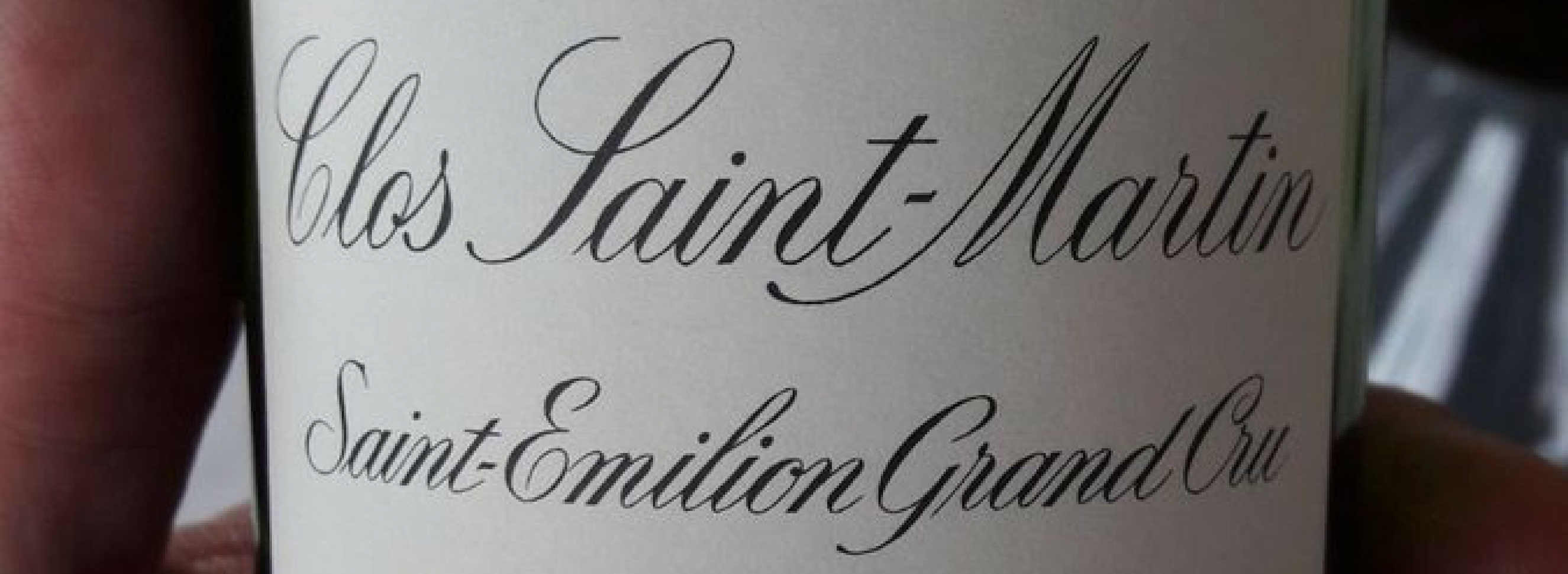 A vertical tasting with Clos Saint-Martin