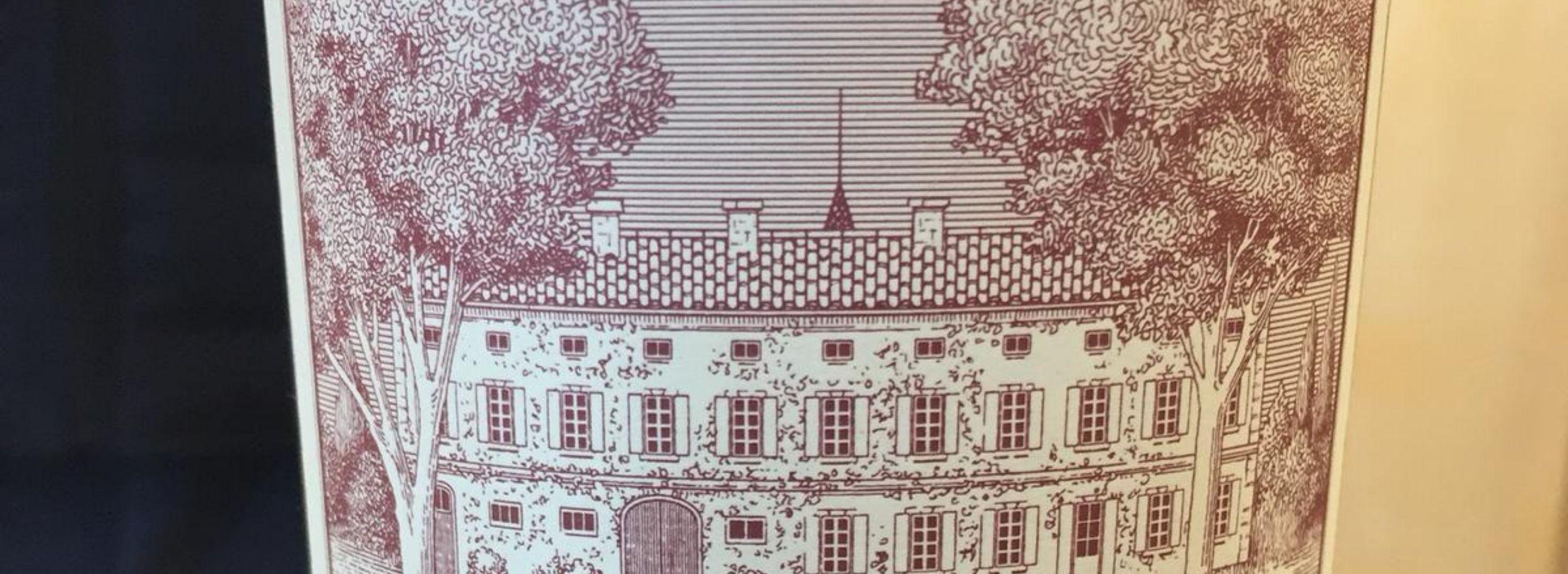 Edouard Labruyère's Château Rouget